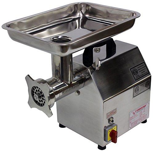 American Eagle Food Machinery Ae-g12n 1hp #12 Commercial Stainless Steel Meat Grinder