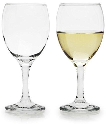 Circleware Biltmore Wine Glasses 11 ounce set of 6