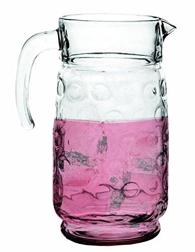 Circleware Circles Glass Beverage Pitcher 64oz