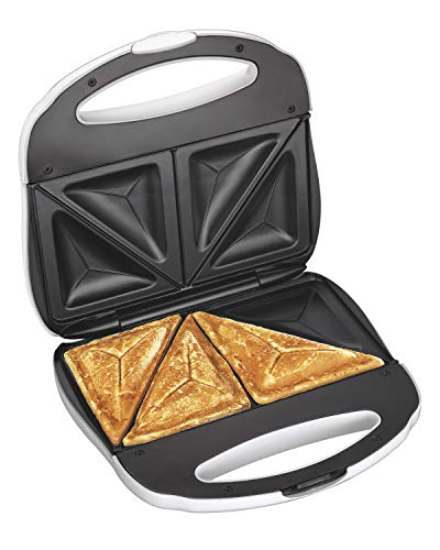 Proctor Silex Sandwich Toaster Omelet And Turnover Maker White 25408Y