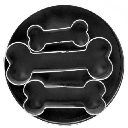 Fox Run Dog Bone Cookie Cutter Set