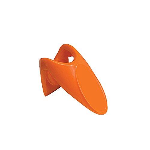 Thirsty Rhino Dente Plastic Finger Ring Bottle Opener Orange Set of 1