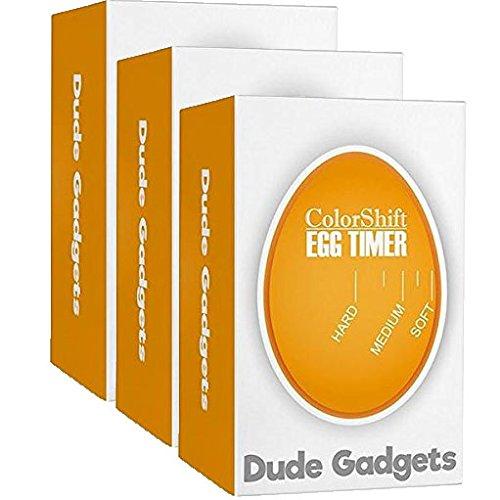 3-Pack ColorShift Egg Timer - Make PERFECT Hard Boil  Soft Boil Eggs EVERY Time Instantly