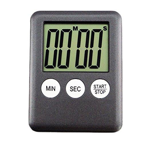 Functional Electronic Digital Timer Kitchen Timer Black