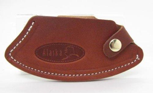 Alaska Genuine Handmade Leather Sheath Ulu Knife