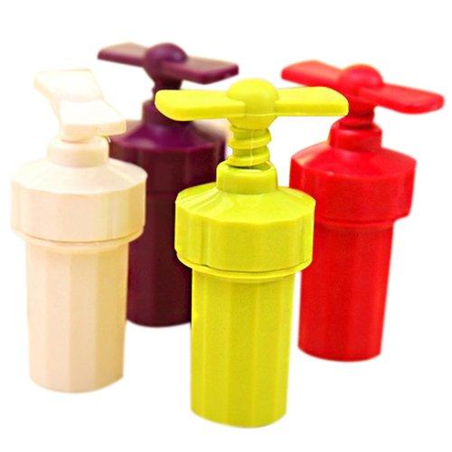 Garlic presser tool - TOOGOORKitchen Helper Handle Garlic Ginger Shredder Cutter Chopper Presser Tools Random Color
