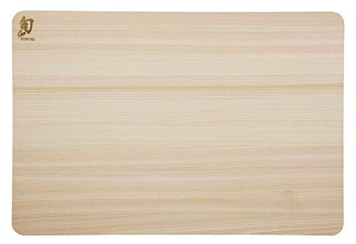 Shun DM0817 Hinoki Cutting Board Large