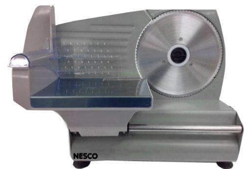 Nesco FS-160 Food Slicer, 180-watt, Stainless Steel/Black