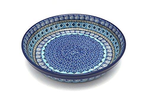 Polish Pottery Baker - Pie Dish - Aztec Sky