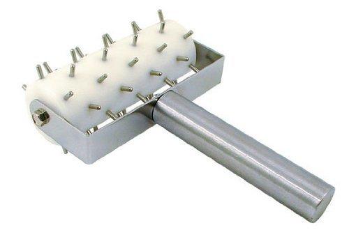 Update International RD-5 Stainless Steel Pizza Roller Docker 8-Inch
