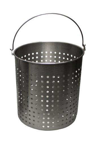Chard Afb-30 Aluminum Frying Basket Pots, 30-quart
