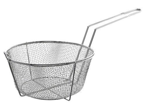 """Update International (fb-11) 11 1/2"""" Round Wire Fry Basket"""
