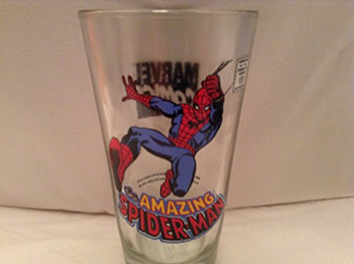 The Amazing Spider-man 16 Ounce Beer Glass Marvel Comics