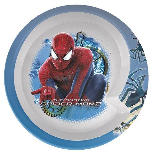 Zak Designs Amazing Spiderman 2 Round Rim Bowl 55-Inch