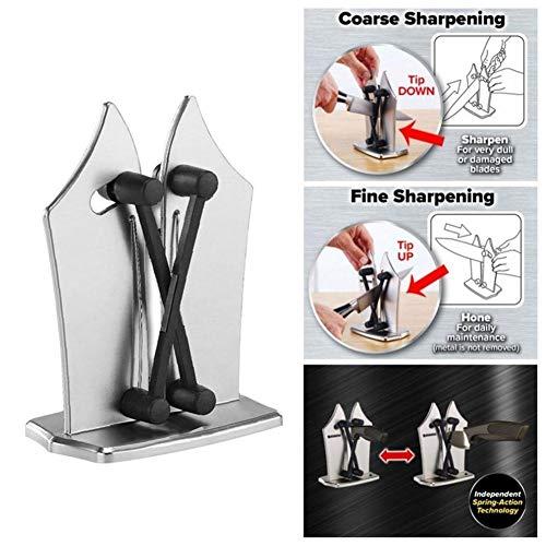 Jiad Kde Stainless Steel Kitchen Knife Sharpener Sharpens Hones Polish Household Knife Sharpener Knifes Sharpener
