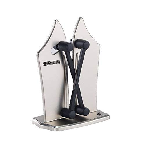 Sharpener Professional Quick Serrated Beveled Standard Blades for Kitchen Household Knife Sharpener Color  Silver Size  16cm