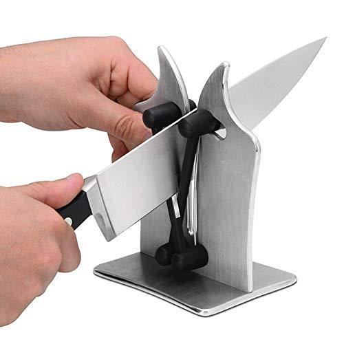 Stainless Steel Kitchen Knife Sharpener Sharpens Hones Polish Household
