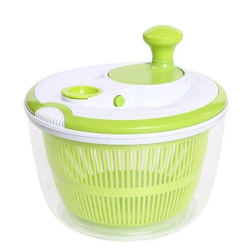 Large-Capacity Salad Spinner With DressingGreensVegetableFruit Salad Spinner Dryer Strainer With Storage Lid