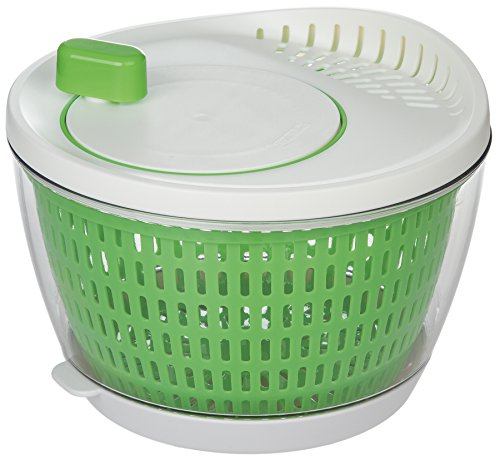 Prepworks by Progressive Flow Through Salad Spinner with Removable Drip-Catch Base - 35 Quart