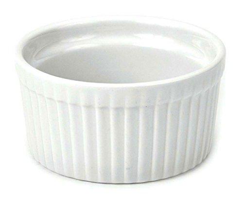 "Bia Cordon Bleu - Set Of 12 - 3.25"" 6 Ounce Porcelain Ramekins"