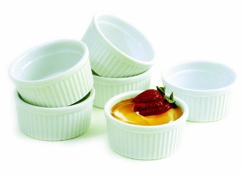 Norpro 6 Piece Porcelain Ramekin Set (pack Of 12)