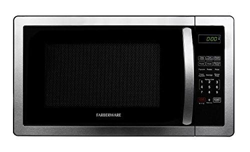 Farberware Classic FMO11AHTBKB 11 Cubic Foot 1000-Watt Microwave Oven Stainless Steel
