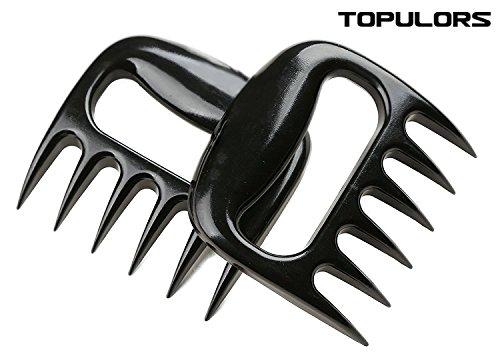 2018 Hot Sale BBQ Meat Handler Forks-Pulled Pork Shredder Claws-Shredding Handling Carving Food-Claw Handler Set for Pulling Brisket from Grill Smoker or Slow Cooker - BPA Free Barbecue Paws