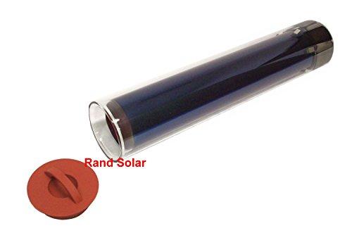 Large Solar OvenStove Evacuated 4 Glass Vacuum Tube Cooker Grill BBQ Prepper Rand Solar