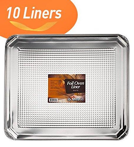 Foil Oven Liner 185 X 155 Inch Set of 10