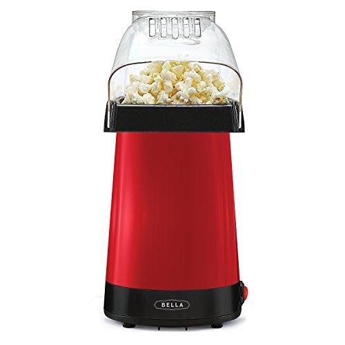 BELLA 14604 Hot Air Popcorn Popper Maker Red