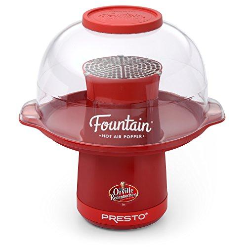 Presto 04868 Orville Redenbachers Fountain Hot Air Popper by Presto Red