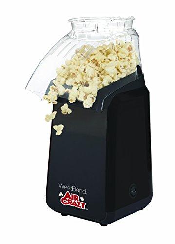 West Bend 82418BK Air Crazy Hot Air Popcorn Popper Black