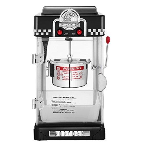 GNP Little Bambino 2-12 Ounce Retro Style Popcorn Popper Machine