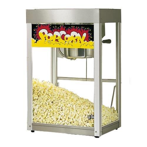 Star Mfg Jetstar Popcorn Popper Machine w Stainless Finish