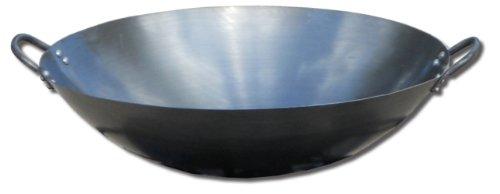 King Kooker #18wk Steel Wok, 18-inch