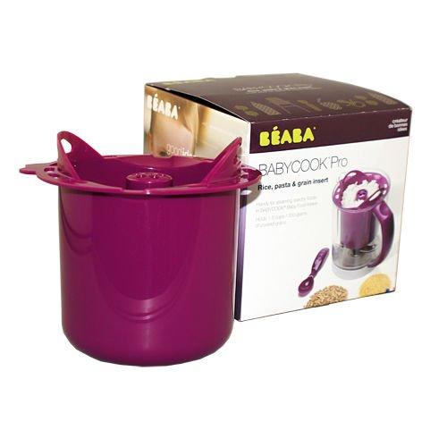 Beaba Babycook Rice Cooker Gipsy For Babycook Rice Pasta & Grain Insert Pro Plum