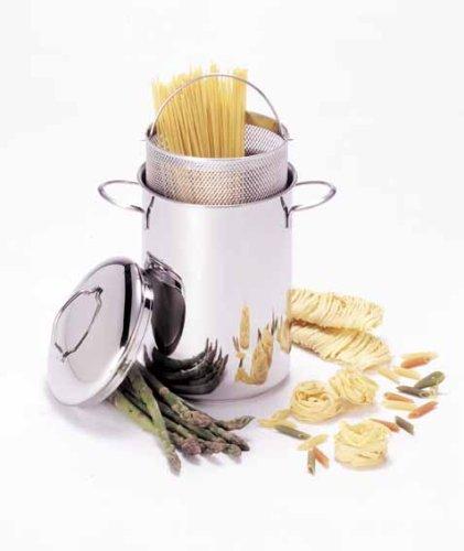 Demeyere Resto 4.7-quart Asparagus/pasta Cooker, Silver