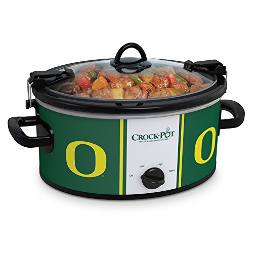 Crock-Pot Oregon Ducks Collegiate 6-Quart Cook Carry Slow Cooker