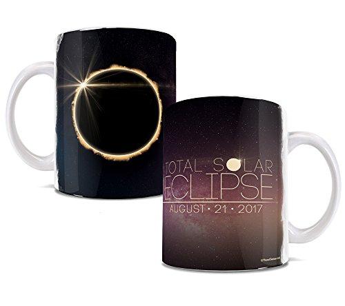 Total Solar Eclipse August 2017 Ceramic Coffee or Tea Mug - 11 Ounces