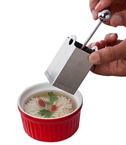 Daisy Chrysanthemum Flower Tofu Knife Cutter Shredder Stainless Steel Cheese Shredded Cutter Slicer Mold Kitchen Tools