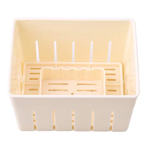 Sevenfly Homemade Tofu Press-Maker Mold Box Plastic Soybean Curd Making Machine