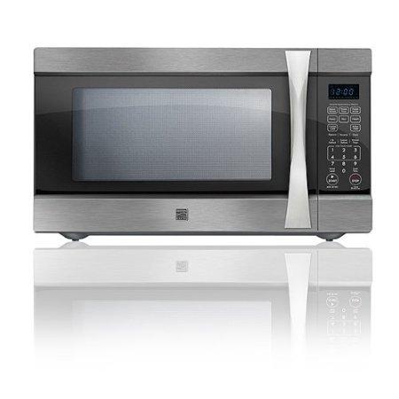 Kenmore Elite 2.2 Cu. Ft. Countertop Microwave W/ Extra-large Capacity - Stainless Steel 75223