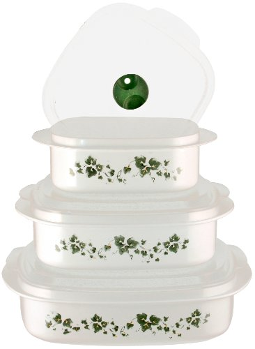 Corelle Coordinates Callaway 6-piece Microwave Cookware Set