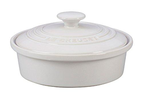 Le Creuset of America Stoneware Camembert Baker 20-Ounce White