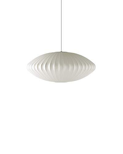 Herman Miller H763 Nelson Saucer Pendant Bubble Lamp Medium White