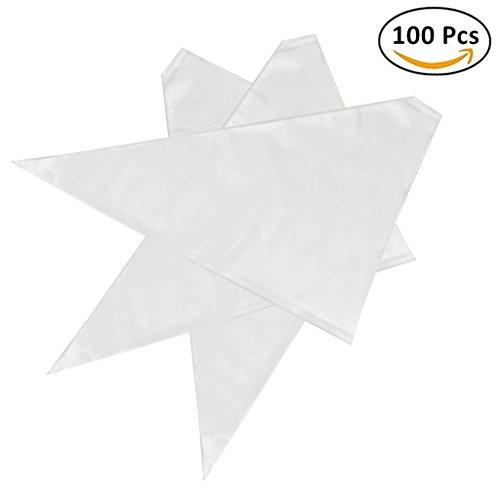 Thickened 100pcsset Disposable Pastry Bag Icing Piping Bag Cake Cupcake Decorating Bags 12inch Thickened
