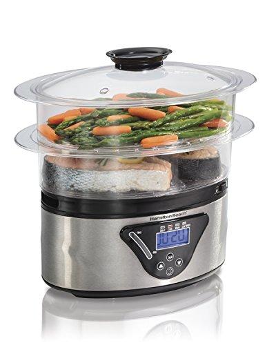 Hamilton Beach Digital Food Steamer - 55 Quart 37530A