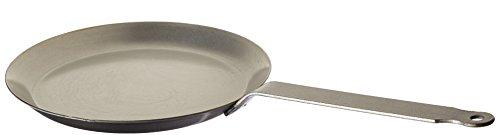 Matfer Bourgeat 062034 Round Crepe Pan 9 12-Inch Gray