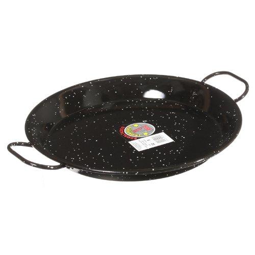 Garcima 12-Inch Enameled Steel Paella Pan 30cm