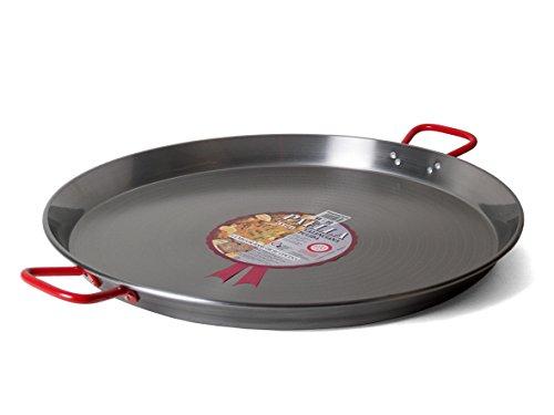 Garcima 24-Inch Carbon Steel Paella Pan 60cm